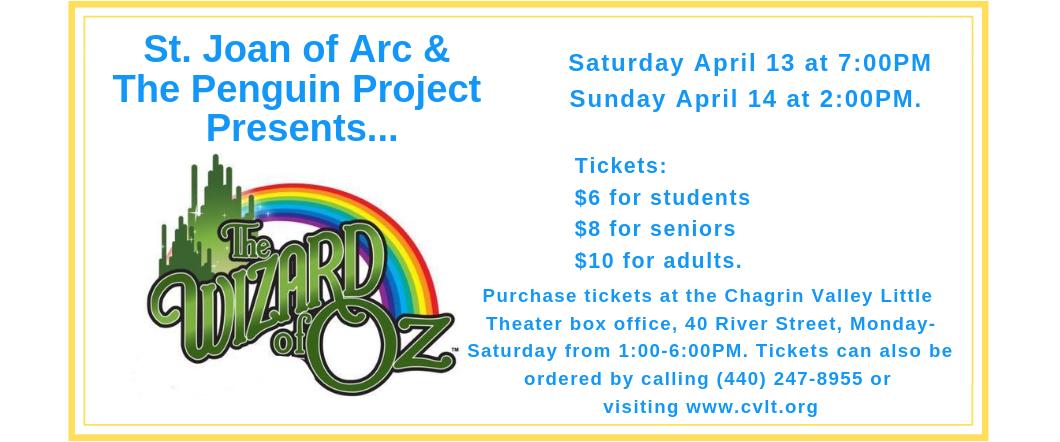Wizard of Oz logo  with Rainbow